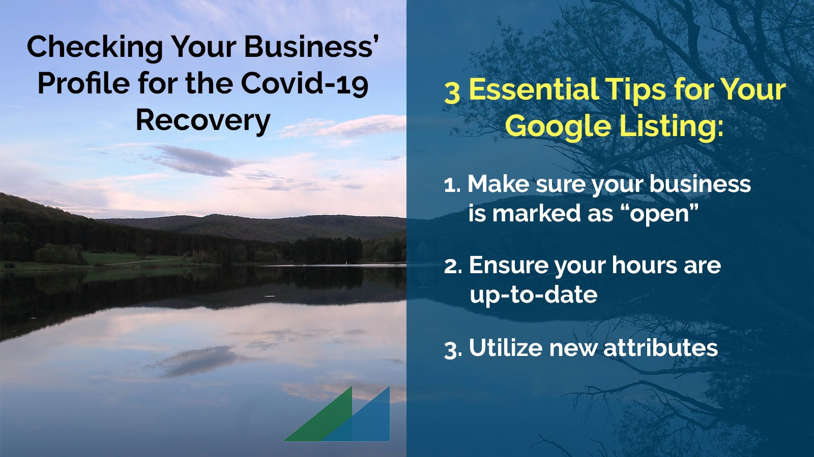 Checking Your Business' Profile for the Covid-19 Recovery